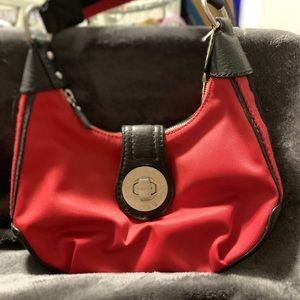 Michael Kors micro fiber shoulder bag